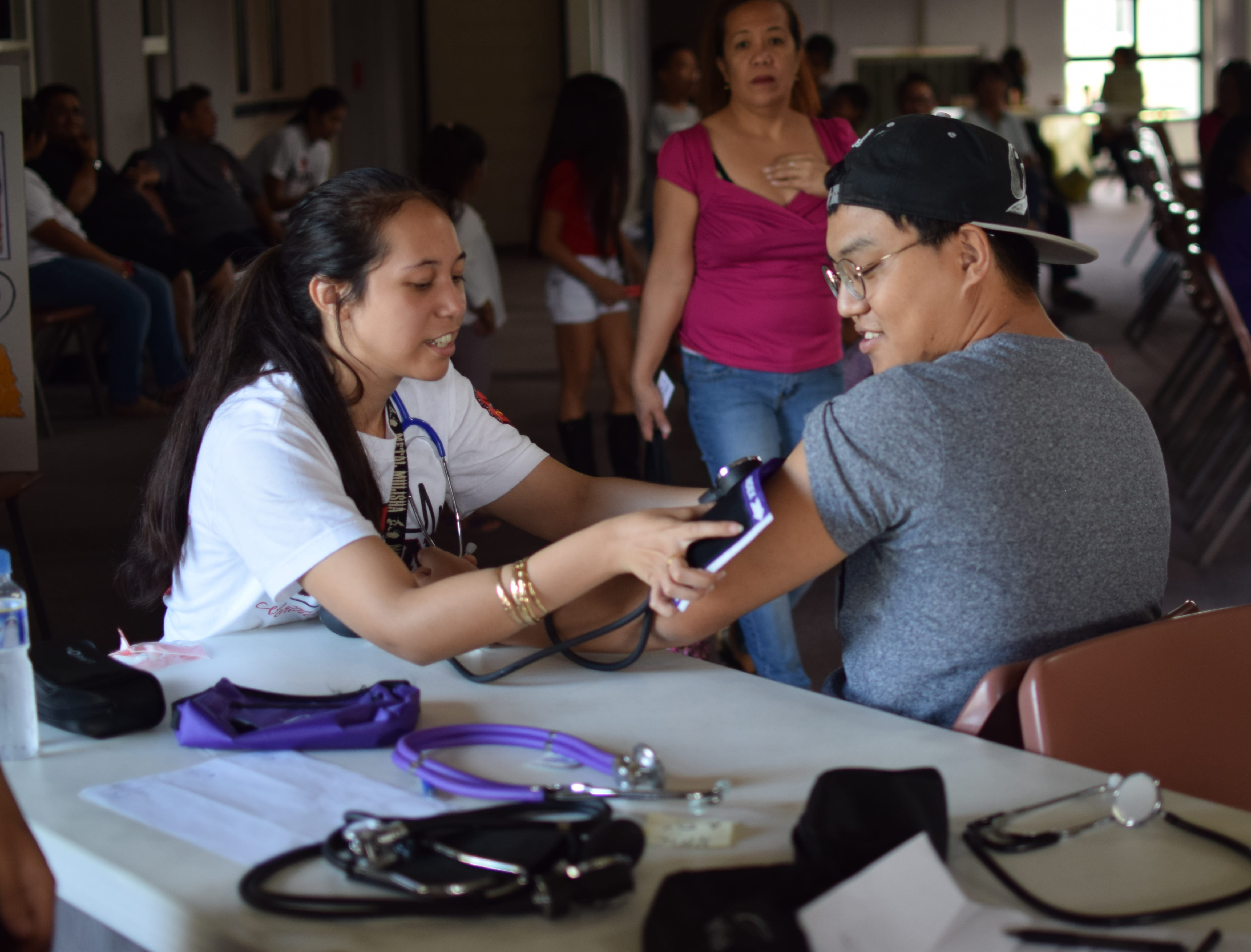 The Northern Marianas College Nursing Club is reminding community members about its Health Fair this Saturday, February 24, 2018 from 8:00am to 12:00pm at the Multi-Purpose Center in Susupe.